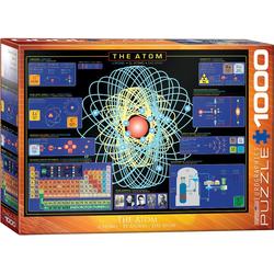 empireposter Puzzle Das Atom - 1000 Teile Puzzle - Format 68x48 cm, 1000 Puzzleteile