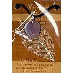 Amethyst Herzblatt, Glücksstein