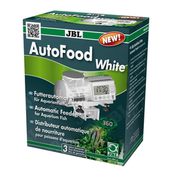 JBL AutoFood WHITE Futterautomat für Aquarienfische