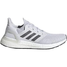adidas Ultraboost 20 M dash grey/grey five/solar red 40 2/3
