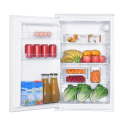 PKM Einbaukühlschrank KS 130.0 EB, 87 cm hoch, 54 cm breit, Vollraumkühlschrank Schleppscharnier 129 L