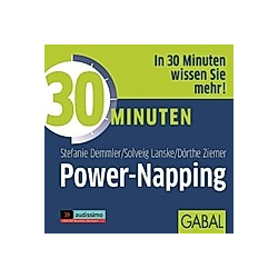 30 Minuten Power-Napping  Audio-CD - Hörbuch