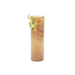 yogabox Duftkerze NUANCE Kerze BRAUN ca. 20 cm