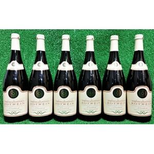 (3,25€/l) 6x Nordmazedonischer Rotwein lieblich fruchtig 1 Liter Vorratsaktion