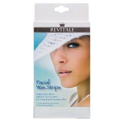 Revitale Facial Wax Strips