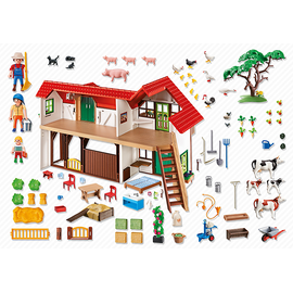 Playmobil Country Großer Bauernhof (6120)