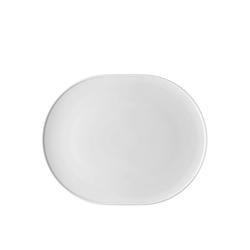 Thomas Porzellan Servierplatte ONO Weiß Platte 33 cm, Porzellan, (1-tlg)