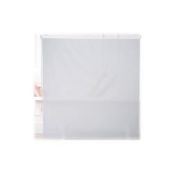 relaxdays Duschrollo Duschrollo weiß Breite 160 cm 160 cm x 240 cm