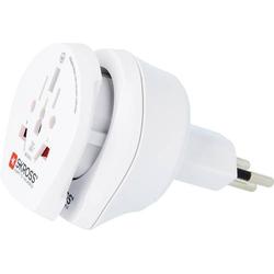 Skross 1.500206-E Reiseadapter CO W to CH