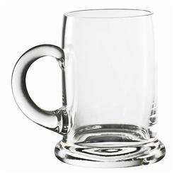 Eisch Bierkrug Seidel 300 ml, Kristallglas beige