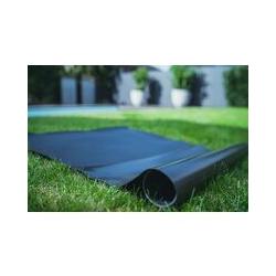 PVC Teichfolie schwarz in einer Stärke von 1.00 mm, Maß: 14 x 17,5 m.