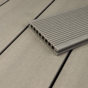 HORI® WPC-Terrassendiele Hohlkammer I Royal I Grau I Dielenlänge: 500 cm