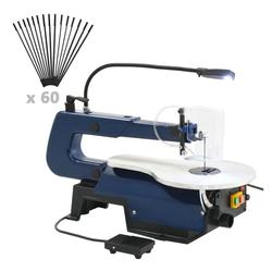 vidaXL Dekupiersäge vidaXL Elektrische Dekupiersäge mit Fußpedal und LED-Licht 125 W