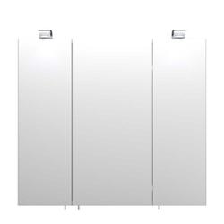 Spiegelschrank mit LED Beleuchtung Weiß
