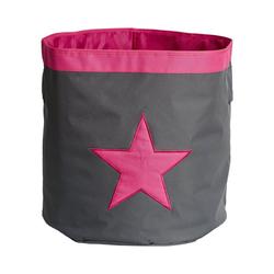 STORE IT! Aufbewahrungsbox Aufbewahrungskorb Maxi Stern rosa
