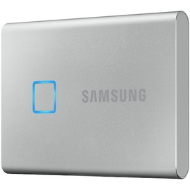 Samsung Portable T7 Touch 1 TB USB 3.2 silber