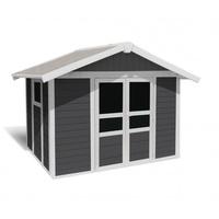 Grosfillex Basic Home 7,5 3,15 x 2,39 m grau/weiß