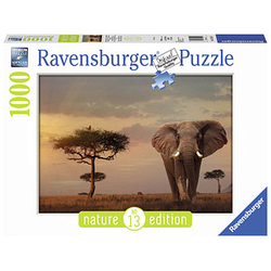 Ravensburger Elefant in Masai Mara National Park Puzzle 1000 Teile