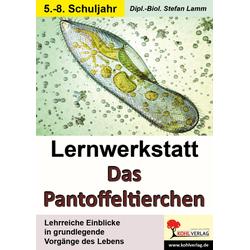 Lernwerkstatt Das Pantoffeltierchen als Buch von Stefan Lamm/ Dipl.-Biol. Stefan Lamm