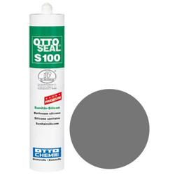 OTTOSEAL® S100 Premium-Sanitär-Silicon 300 ml - Grau C02