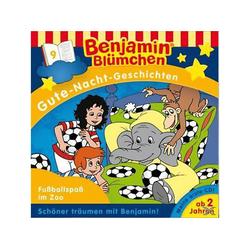 Folge 9: Gute Nacht Geschichten - Fussballspass im Zoo (CD)