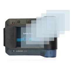 Savvies Schutzfolie für Swissphone s.Quad X15, (6 Stück), Folie Schutzfolie klar