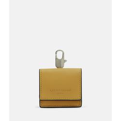 Liebeskind Berlin - In-Ear-Kopfhörer Tasche aus Leder,  Gelb, Größe 1