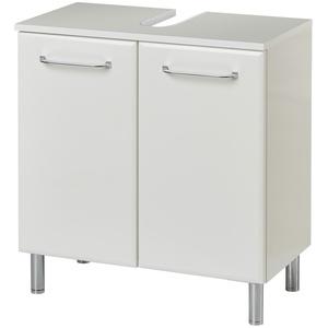 Basispreis* smart Waschbeckenunterschrank  Onda ¦ weiß ¦ Maße (cm): B: 60 H: 53 T: 33