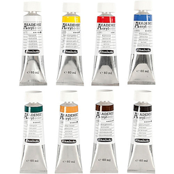 Schmincke AKADEMIE® Acrylfarbe, 8x60ml