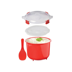 sistema Mikrowellenbehälter Mikrowellen Reiskocher, 2.6 l, Kunststoff (lebensmittelecht)