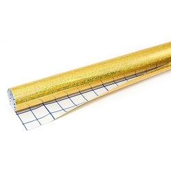 Hologrammfolie, gold, 50 cm x 1 m