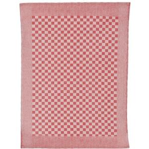 Ross Geschirrtuch mit Schachbrett-Muster in rot