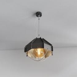 Retro Industrielampe RAFI ø 30 cm Schwarz
