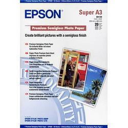 EPSON Fotopapier S041328 DIN A3+ seidenmatt 250 g/qm 20 Blatt