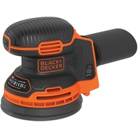 Black & Decker Tragbares Schleifgerät Schwingschleifer 12000 RPM Schwarz, Orange