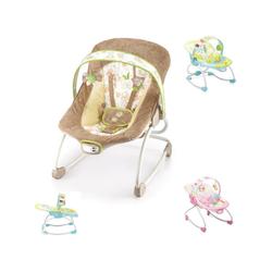 Moni Babywippe Babywippe und Stuhl Merry 2 in 1, mit Musikfunktion und Vibration natur