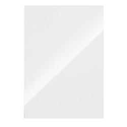 100 Fellowes Rückwände für Bindemappen Chromolux weiß
