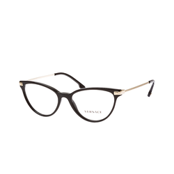 Versace VE 3261 GB1, inkl. Gläser, Cat Eye Brille, Damen