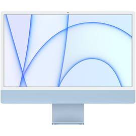 """Apple iMac 24"""" mit Retina 4.5K Display M1 8 GB RAM 256 GB SSD 7-Core GPU blau"""