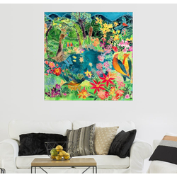 Posterlounge Wandbild, Karibischer Dschungel, 1993 100 cm x 100 cm