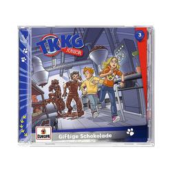 TKKG Hörspiel CD TKKG junior 3 - Giftige Schokolade