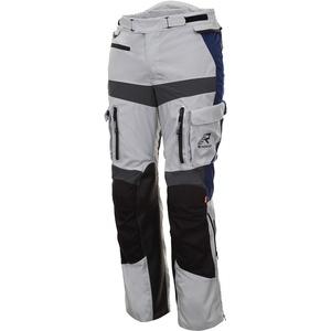 Rukka Offlane Motorrad Textilhose, grau-blau, Größe 46