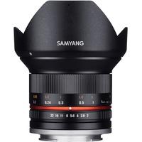 Samyang 12mm F2,0 NCS CS Fuji X schwarz