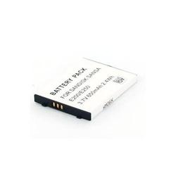 Akku für Sandisk Sansa E200 Li-Ion 3,7 Volt 650 mAh
