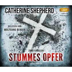 Stummes Opfer als Hörbuch CD von Catherine Shepherd