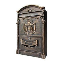 Mucola Briefkasten Letterbox Briefkastenanlage, mit 3D Relief