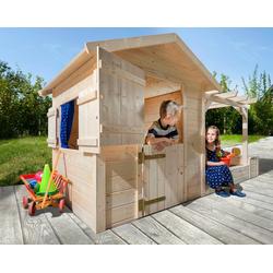 weka Spielhaus Tabaluga, BxT: 286x153 cm, inkl. Sandkasten/Pergola