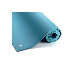 yogabox Yogamatte Naturkautschukmatte KURMA GECO 6 mm, sehr rutschfest blau 66 cm x 200 cm x 0.6 cm