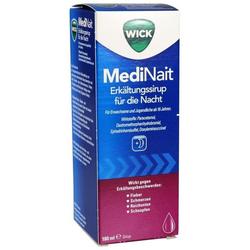 WICK MediNait Erkältungssirup für die Nacht