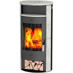 Fireplace Kaminofen Piacenza, 6 kW, Zeitbrand